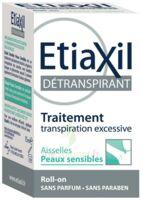 Etiaxil Aisselles Détranspirant Peau Sensibles Roll-on/15ml à BU