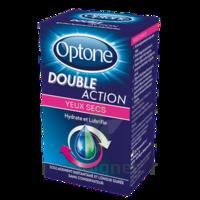 Optone Double Action Solution Oculaire Yeux Secs Fl/10ml à BU