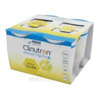 Clinutren Dessert 2.0 Kcal Nutriment Vanille 4cups/200g à BU