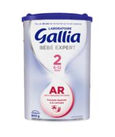 Gallia Bebe Expert Ar 2 Lait En Poudre B/800g à BU