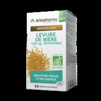 Arkogélules Levure De Bière Revivifiable Bio Gélules Fl/45 à BU