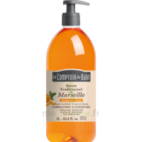 Acheter Savon de Marseille Mandarine-Sauge 1L Comptoir du bain à BU