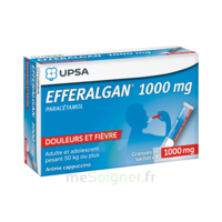 Efferalgan 1g Cappuccino Granules 8 Sachets à BU