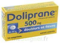 DOLIPRANE 500 mg Comprimés 2plq/8 (16) à BU