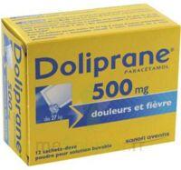 Doliprane 500 Mg Poudre Pour Solution Buvable En Sachet-dose B/12 à BU