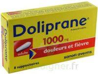 Doliprane 1000 Mg Suppositoires Adulte 2plq/4 (8) à BU
