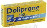 DOLIPRANE 500 mg Gélules B/16 à BU