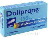 Doliprane 150 Mg Suppositoires 2plq/5 (10) à BU