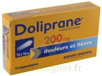 Doliprane 200 Mg Suppositoires 2plq/5 (10) à BU
