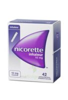 NICORETTE INHALEUR 10 mg Cartouche p inh bucc inhalation buccale B/42 à BU