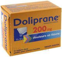 Doliprane 200 Mg Poudre Pour Solution Buvable En Sachet-dose B/12 à BU