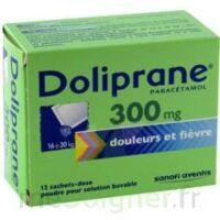 Doliprane 300 Mg Poudre Pour Solution Buvable En Sachet-dose B/12 à BU