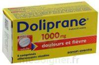DOLIPRANE 1000 mg Comprimés effervescents sécables T/8 à BU