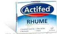ACTIFED RHUME, comprimé à BU