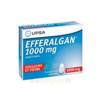 Efferalgan 1000 Mg Comprimés Pelliculés Plq/8 à BU