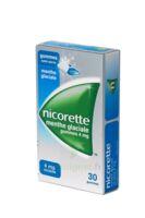 NICORETTE 4 mg Gom à mâcher médic sans sucre menthe glaciale Plq/30gom à BU