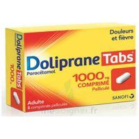 DOLIPRANETABS 1000 mg Comprimés pelliculés Plq/8 à BU