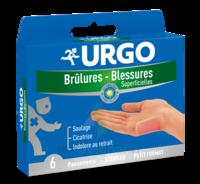URGO BRULURES-BLESSURES PETIT FORMAT x 6 à BU