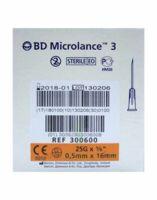 Bd Microlance 3, G25 5/8, 0,5 Mm X 16 Mm, Orange  à BU