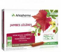 Arkofluide Bio Ultraextract Solution buvable jambes légères 20 Ampoules/10ml à BU