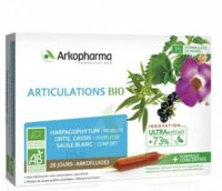Arkofluide Bio Ultraextract Solution Buvable Articulations 20 Ampoules/10ml à BU