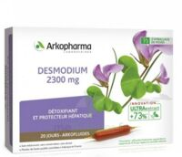 Arkofluide Bio Ultraextract Desmodium Solution Buvable 20 Ampoules/10ml à BU