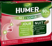 Humer Nez/gorge Jour&nuit 15 Comprimés à BU