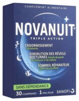 Novanuit Triple Action Comprimés B/30 à BU