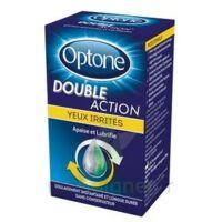 Optone Double Action Solution Oculaire Yeux Irrités Fl/10ml à BU