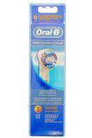 BROSSETTE DE RECHANGE ORAL-B PRECISION CLEAN x 3 à BU