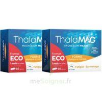 Thalamag Forme Physique & Mentale Magnésium Marin Fer Vitamine B9 Gélules 2b/60 à BU