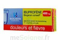 IBUPROFENE BIOGARAN CONSEIL 400 mg, comprimé pelliculé à BU