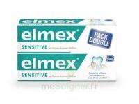 ELMEX SENSITIVE DENTIFRICE, tube 75 ml, pack 2 à BU