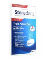 STERADENT TRIPLE ACTION, tube 30, bt 3 à BU