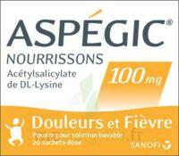 Aspegic Nourrissons 100 Mg, Poudre Pour Solution Buvable En Sachet-dose à BU
