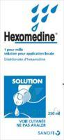 Hexomedine 1 Pour Mille S Appl Loc Fl/250ml à BU