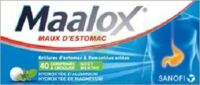 Maalox Hydroxyde D'aluminium/hydroxyde De Magnesium 400 Mg/400 Mg Cpr à Croquer Maux D'estomac Plq/40 à BU