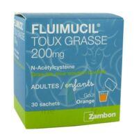 Fluimucil Expectorant Acetylcysteine 200 Mg Sans Sucre, Granulés Pour Solution Buvable En Sachet édulcorés à L'aspartam Et Au Sorbitol à BU