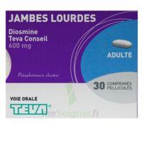 DIOSMINE TEVA CONSEIL 600 mg, comprimé pelliculé à BU