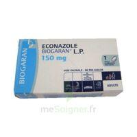 Econazole Biogaran L.p. 150 Mg, Ovule à Libération Prolongée à BU