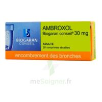 Ambroxol Biogaran Conseil 30 Mg, Comprimé Sécable à BU