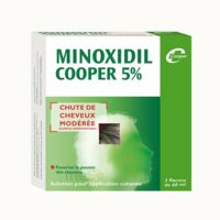MINOXIDIL COOPER 5 %, solution pour application cutanée à BU