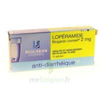 Loperamide Biogaran Conseil 2 Mg, Gélule à BU