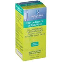 Chlorhexidine/chlorobutanol Biogaran Conseil 0,5 Ml/0,5 G Pour 100 Ml, Solution Pour Bain De Bouche Fl/200ml à BU