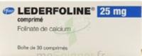 Lederfoline 25 Mg, Comprimé à BU