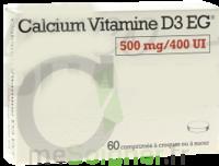 Calcium Vitamine D3 Eg 500 Mg/400 Ui, Comprimé à Croquer Ou à Sucer à BU