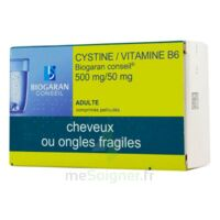 CYSTINE/VITAMINE B6 BIOGARAN CONSEIL 500 mg/50 mg Cpr pell Plq/120 à BU