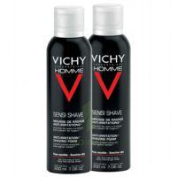 VICHY mousse à raser peau sensible LOT à BU