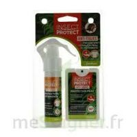 Insect Protect Spray Peau + Spray VÊtements Fl/18ml+fl/50ml à BU
