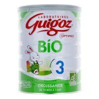 Guigoz Bio Croissance De 10 Mois à 3 Ans à BU